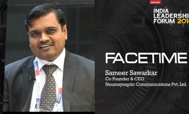 Sameer Sawarkar, Co Founder & CEO, Neurosynaptic Communications Pvt. Ltd.