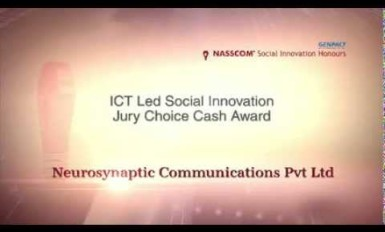 Winner of the Jury's choice Cash award in NSIH 2014