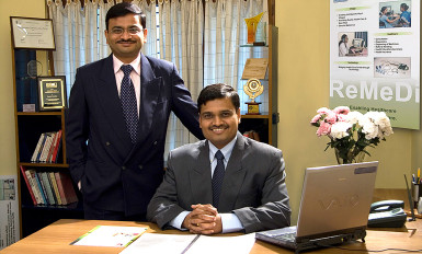 Rajeev Kumar and Sameer Sawarkar of Neurosynaptic.
