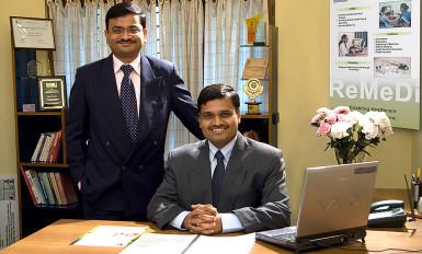 Rajeev Kumar and Sameer Sawarkar of Neurosynaptic.