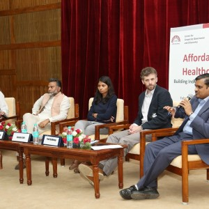 Sameer Sawarkar at Affordable Healthcare Conclave